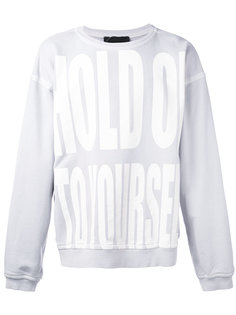 Hold On To Yourself sweatshirt Haider Ackermann