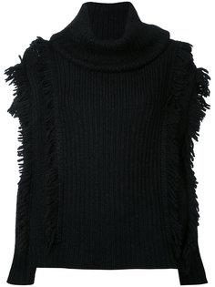 Fringe knit Kitx
