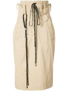 high-waisted skirt Anne Sofie Madsen