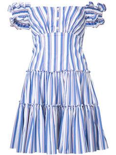 Maria striped dress Caroline Constas