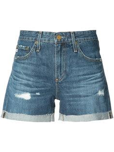 distressed denim shorts  Ag Jeans