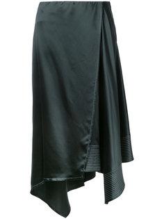 asymmetric skirt Lemaire