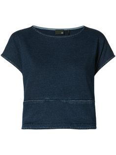 cropped denim blouse Ag Jeans