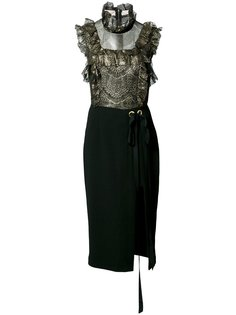 платье мини Bonnie Frill  Rebecca Vallance