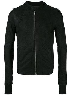 куртка в стиле интарсия Rick Owens