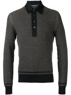 текстурированный свитер Tom Ford