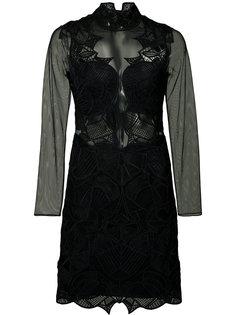 платье с длинными рукавами Jonathan Simkhai