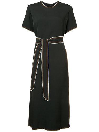 платье шифт с поясом Derek Lam
