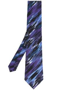 галстук с абстрактным рисунком Etro