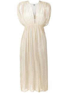 Длинное платье с завышенной талией  Forte Forte
