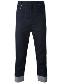 укороченные джинсы Neil Barrett