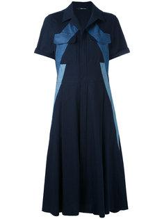 джинсовое платье с панельным дизайном Neil Barrett