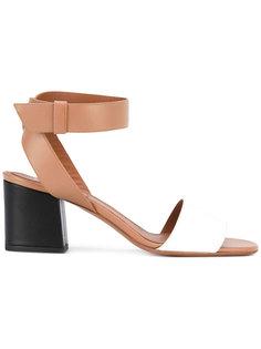 босоножки дизайна колор-блок Givenchy