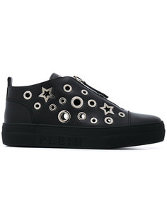 star and eyelet trainers Philipp Plein