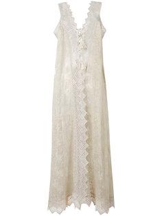 длинное платье Abito  Ermanno Scervino