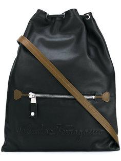 рюкзак со стяжкой Salvatore Ferragamo