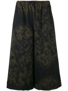 широкие брюки с рисунком Comme Des Garçons