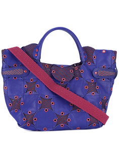 сумка-тоут с люверсами Jamin Puech