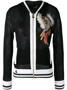 сетчатая куртка с капюшоном Philipp Plein