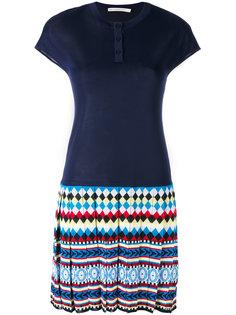 плиссированное платье-поло  Mary Katrantzou