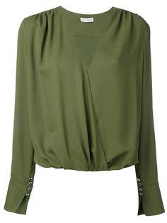 longsleeve V-neck blouse Altuzarra