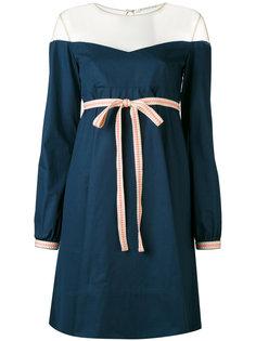 платье с открытыми плечами  Miahatami