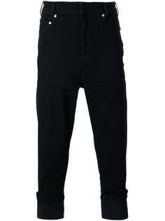 укороченные джинсы с подвернутым подолом Neil Barrett