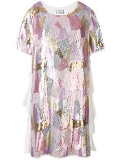 платье-футболка с пайетками Paul & Joe