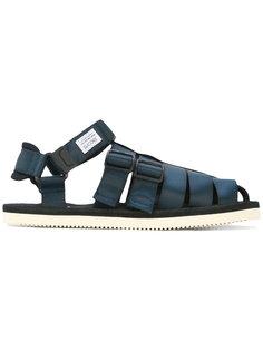сандалии с ремешками Suicoke