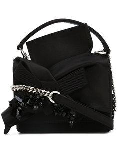 декорированная сумка через плечо с узлом  Nº21