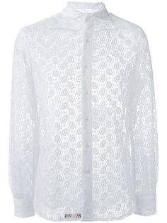 рубашка с кружевной отделкой Gabriele Pasini