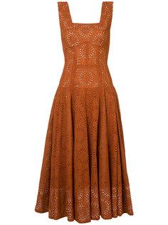 английское вышитое платье Derek Lam