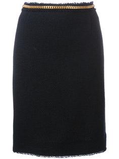 юбка с цепочным поясом Thom Browne
