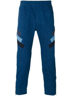 брюки с контрастными полосками Neil Barrett