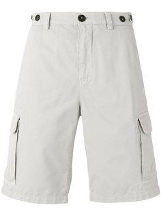 шорты с клапанами на карманах Brunello Cucinelli