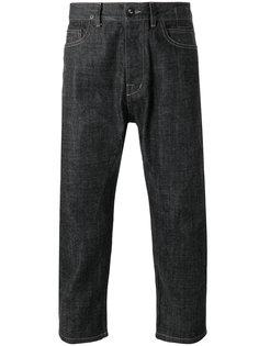 укороченные прямые джинсы Rick Owens DRKSHDW