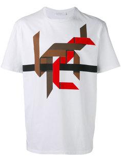 рубашка с графическим дизайном Neil Barrett