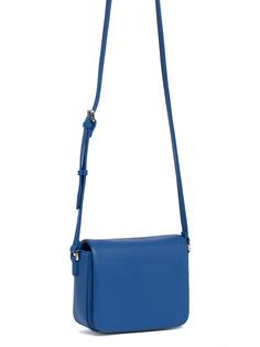 Синяя кожаная сумка Pimo Betti