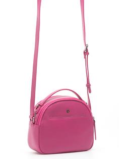 Розовая кожаная сумка Pimo Betti