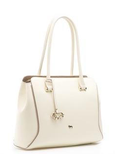 Кожаная сумка с брелком Labbra