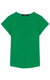 Зеленая футболка La Reine Blanche