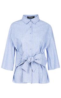 Женская рубашка с бантом La Reine Blanche