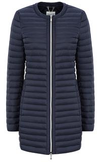 Стеганое пальто на натуральном пуху Geox
