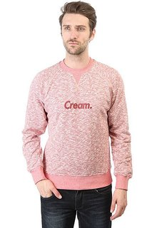 Толстовка свитшот Anteater Crewneck-cream Burgundy