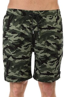 Шорты пляжные Quiksilver Waistcamoamph19 Four Leaf