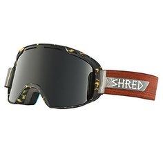Маска для сноуборда Shred Amazify Shnerdwood Cbl/Blast Tortoise/Wood
