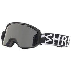Маска для сноуборда Shred Amazify Blackout Stealth Black