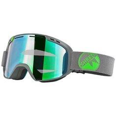Маска для сноуборда Shred Amazify Biff Маска Gray/Green