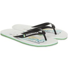 Вьетнамки Quiksilver Molokai Wordmar Black/White/Blue
