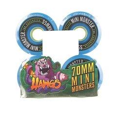 Колеса для скейтборда для лонгборда Landyachtz Pre-Packaged Mini Monster Hawgs Blue 78A 70 mm